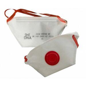 Zdravotný respirátor triedy FFP3 DNA s ventilom 1ks