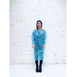 Premium ochranný oblek 1ks - modrý 25g / m2