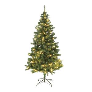 Vianočný stromček so svetielkami, zelená, 180 cm, LED450, CHRISTMAS TYP 5