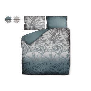 Posteľné obliečky Dreamy Palms Dormeo, 200x200 cm, strieborná