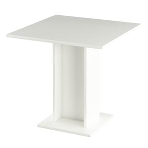 Jedálenský stôl, biela, EUGO