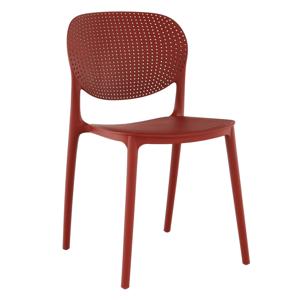 Stolička, červená, FEDRA