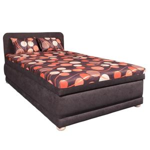 Váľanda s úložným priestorom, s molitánovým matracom, 120x200 cm, ERNA 120