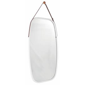 Zrkadlo, bambus biela, LEMI 3, poškodený tovar